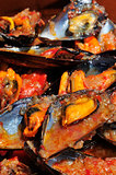 mejillones a la marinera, spanish mussels in marinara sauce