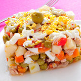 ensaladilla rusa, spanish russian salad