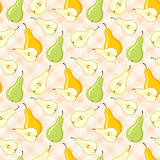 Seamless pears pattern