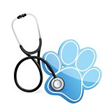 veterinarian concept with a Stethoscope