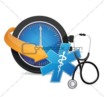 time for an appointment concept