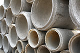 Concrete drainage pipes