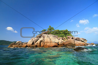 Small Island on LIPE island, Thailand