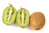 Kiwifruits (Actinidia deliciosa)