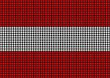 Abstract Austria Flag