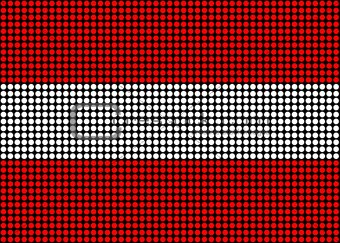 Abstract Austria Flag