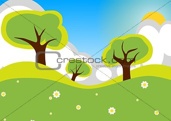 Countryside Cartoon