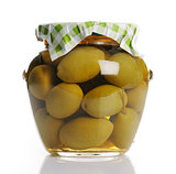 jar with olives