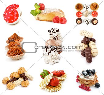 Cakes and Desserts Collection