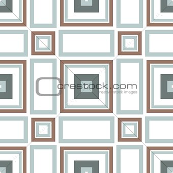 Blue Brown Seamless Tile