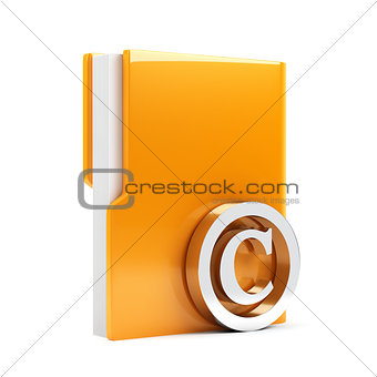 Folder with copyright sign