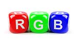 RGB dices