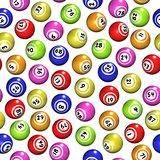 Seamless Bingo Balls