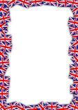 UK flag frame