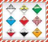 Danger symbols