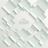 White tiles abstract vector background eps10 vector illustration