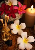 Low light spa massage setting