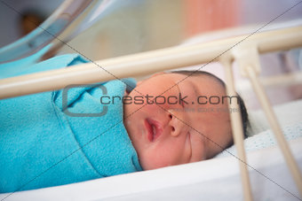 Asian Newborn baby girl