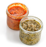 Artichoke And Red Pepper Spreads