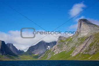 Scenic fjord