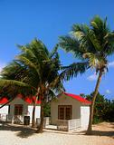 Beach cabins
