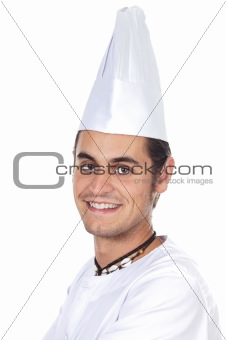 happy attractive cook