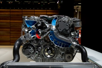car's engine