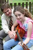 Father Daughter Guitar Help