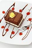 chocolate cake - sweet dessert