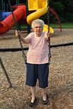 Swinging Grandmother 2