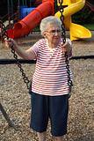 Swinging Grandmother
