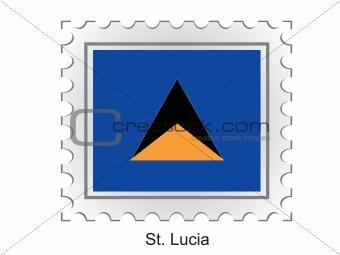 Flag of St. Lucia