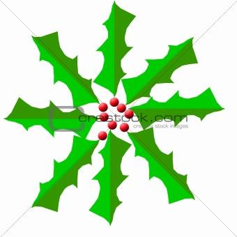 Christmas Holy Wreath Digital
