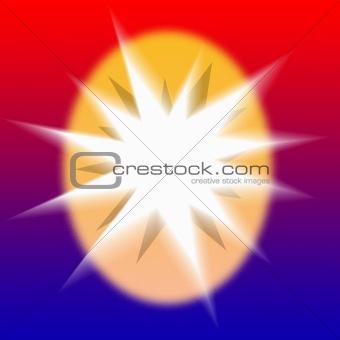 Bright Starburst  Page Design