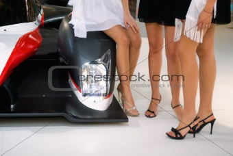 Beauties and car
