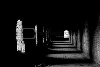 Old dark passage
