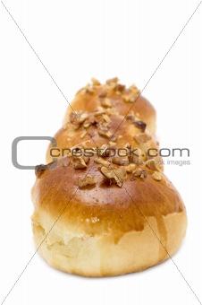 Three baking bun