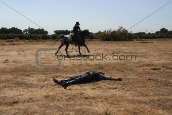Casualty & cavalry