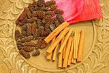 Cinnamon and cones