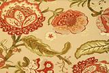 Floral pattern beige