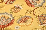 Floral pattern yellow