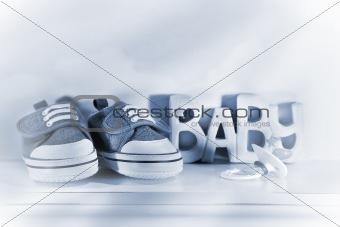 Baby denim shoes