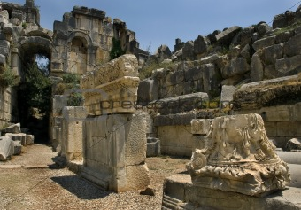 Ancient Myra city