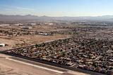 Aerial shot taken in Las Vegas