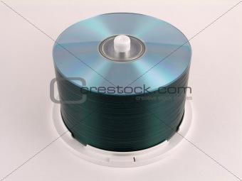 CD-R stack