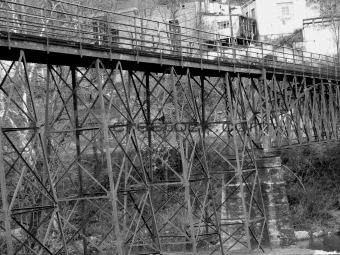 Architectural Metal Bridge