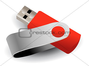 vector flash drive