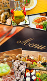 Mediterranean Healthy Food &amp; Menu Montage