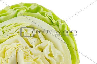 Green cabbage slide