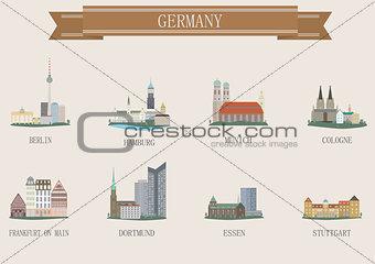 City symbol. Germany